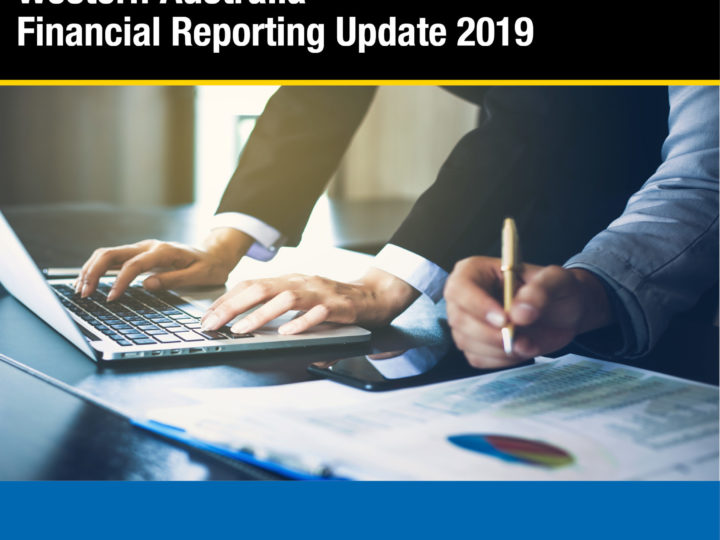 Financial Reporting Update – Perth